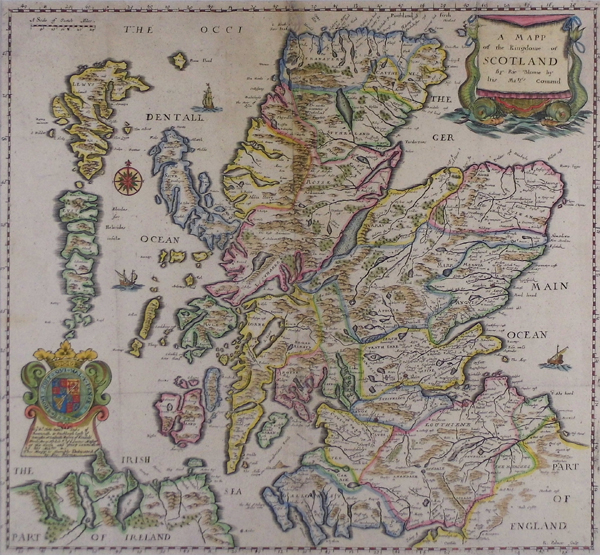 A mapp of the kingdome of scotland sanders of oxford gumiabroncs Image collections