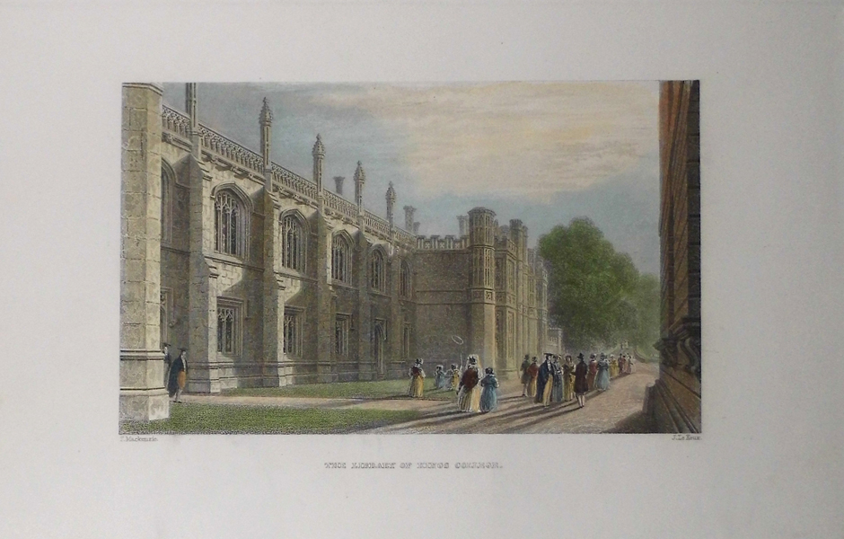 The Library of Kings College [Cambridge]   Sanders of Oxford