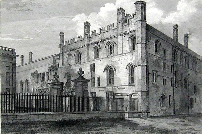Cambridge University Almanack 1822  Kings College Old